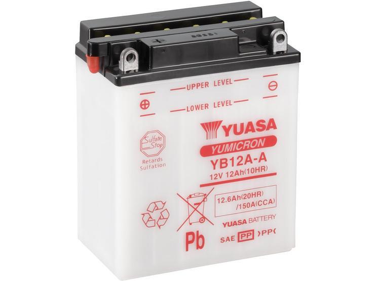 Yuasa YB12A-A Yumicron Motorcycle Battery