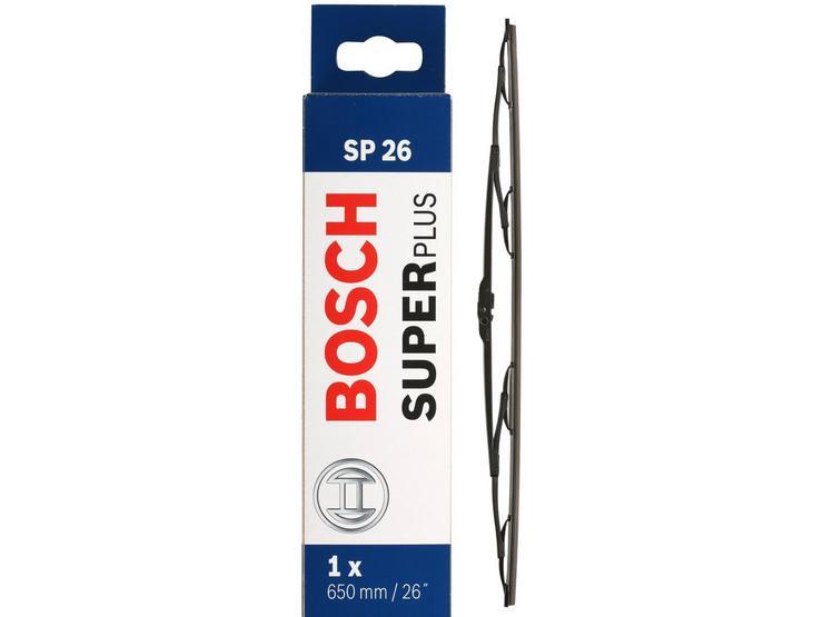 Bosch SP26 Wiper Blade - Single