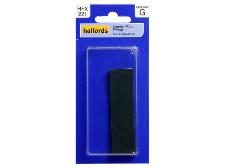Halfords Number Plate Tape