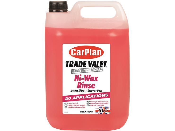 CarPlan Trade Hi-Wax Rinse 5L