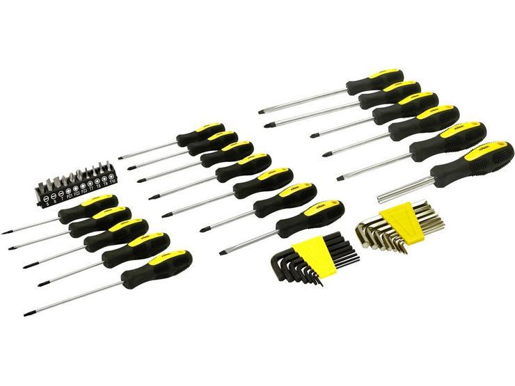 Rolson 44pc Screwdriver Set