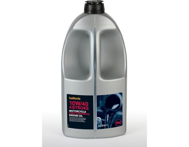 Halfords Motorcycle Engine Oil Part Synthetic 10w 40 5ltr Halfords Uk