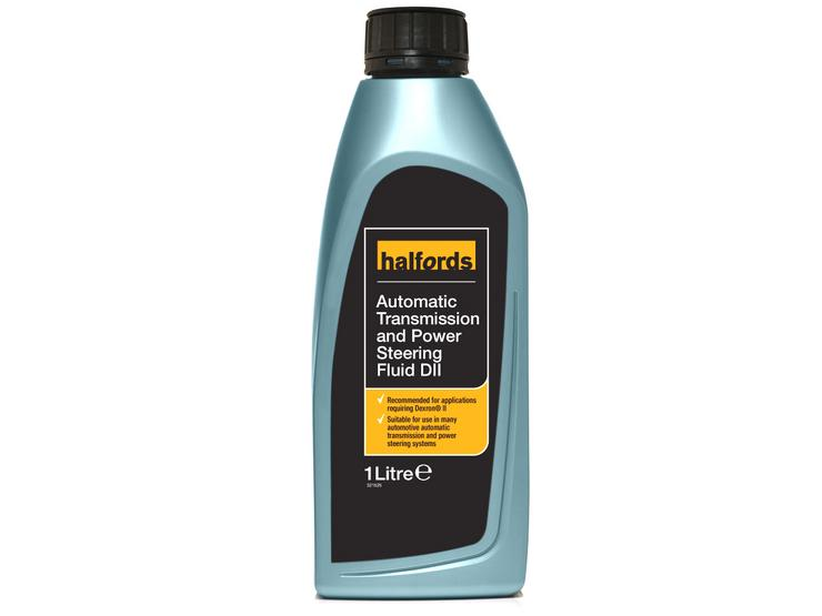 Halfords Automatic Transmission & Power Steering Fluid DII 1L
