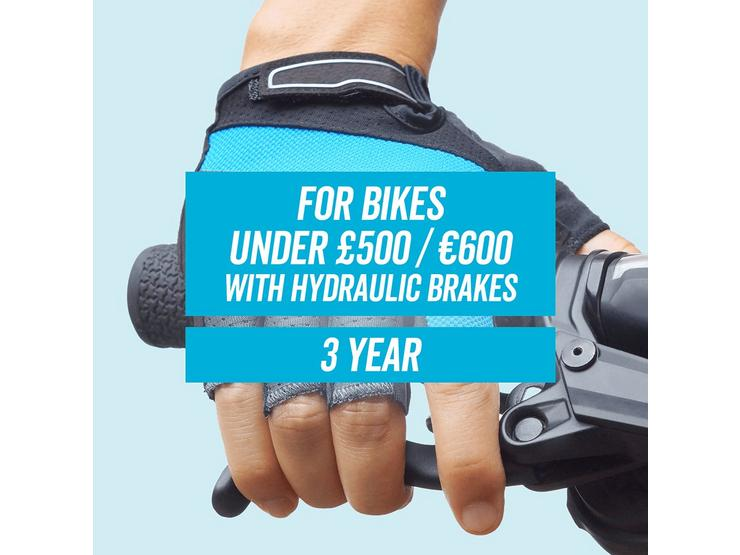 CycleCare for 3 Years With Hydraulic Brakes