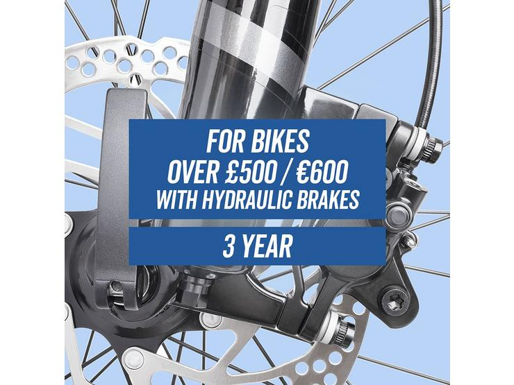 Performance CycleCare for 3 Years With Hydraulic Brakes