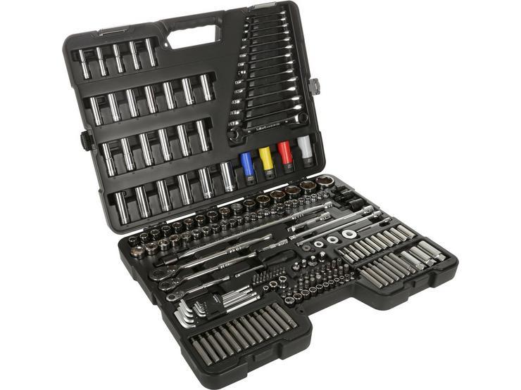 Halfords Advanced 200 Pc Socket and Ratchet Spanner Set