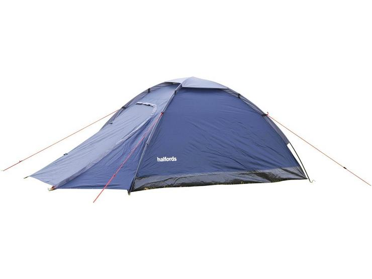 Halfords 2 Person XL Dome Tent With Porch