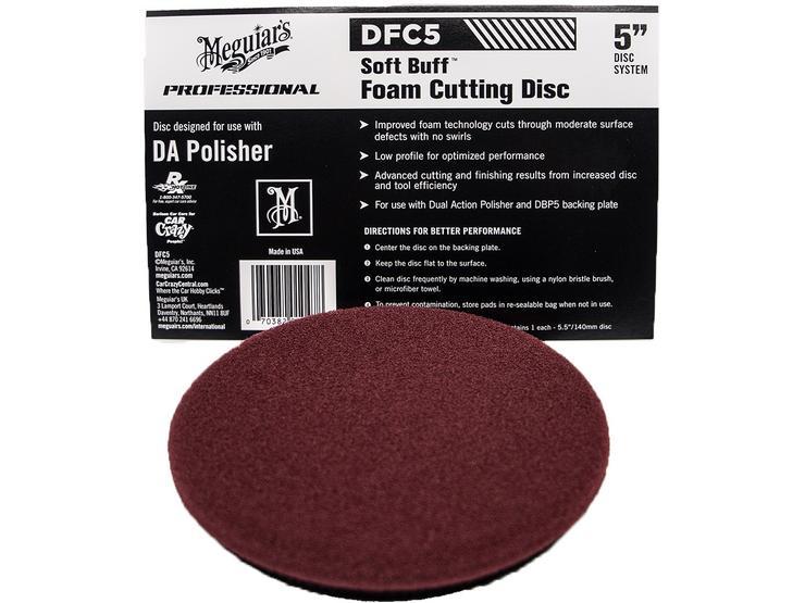 """Meguiars Soft Buff Foam Cutting Disc 5"""""""