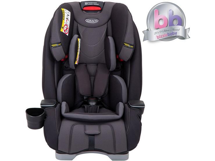 Graco Slimfit Group 0+/1/2/3 Child Car Seat - Mid Grey