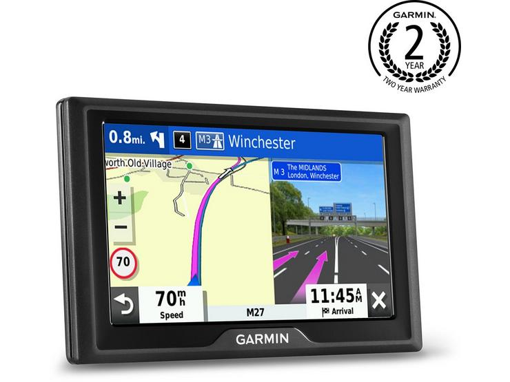 "Garmin Drive 52MT-S with Full Europe Maps 5"" Sat Nav"