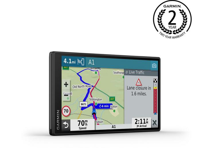 "Garmin DriveSmart 55 MT-S with UK Maps 5.5"" Sat Nav"