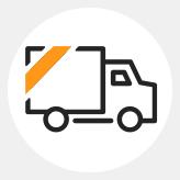 Mobile van icon